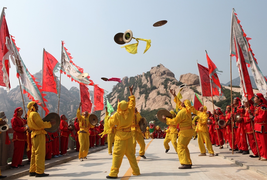 吴向东的获奖作品《大闹天宫》。