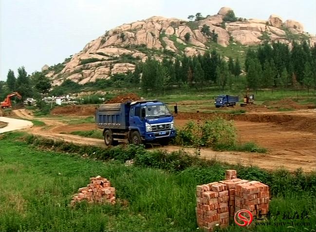 E家野营地项目施工现场。