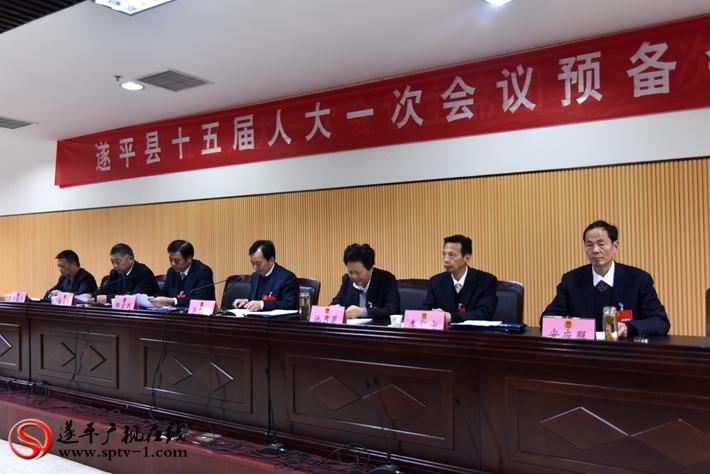 县第十五届人民代表大会第一次会议召开预备会议